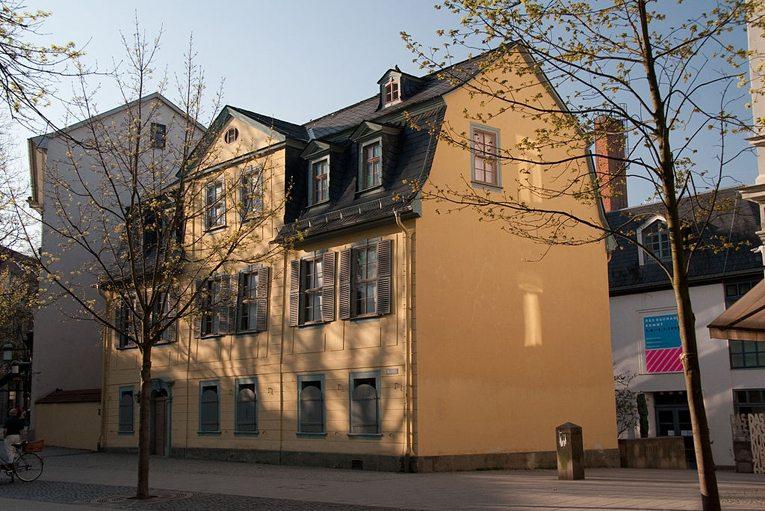 Schillers Wohnhaus in Weimar (Bild: Maros M r a z, Wikimedia, CC)