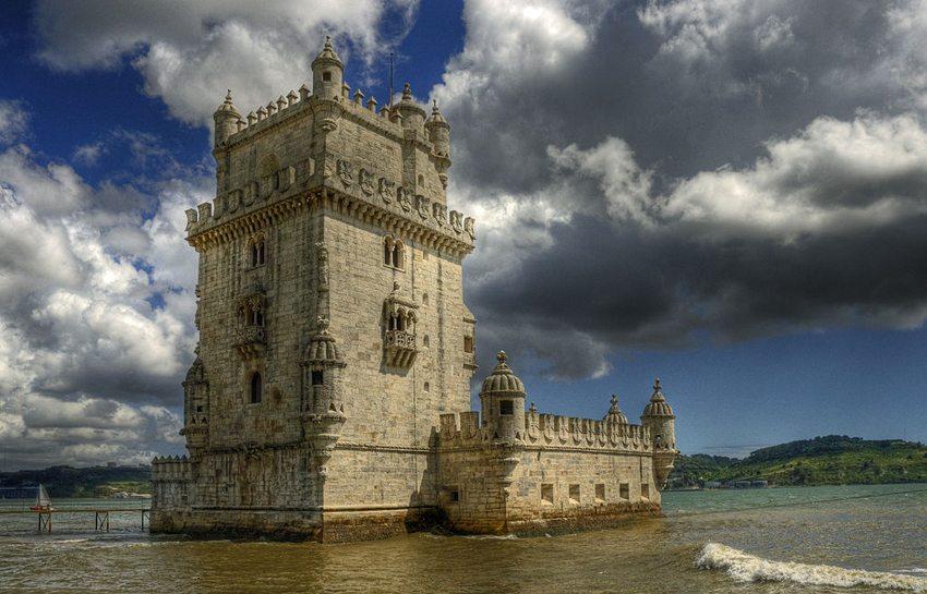 """Das UNESCO-Welterbe """"Torre de Belém"""" in Lissabon (Bild: Bert K., Wikimedia, CC)"""