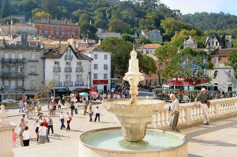 In der Altstadt von Sintra (Bild: Bildpixel  / pixelio.de)