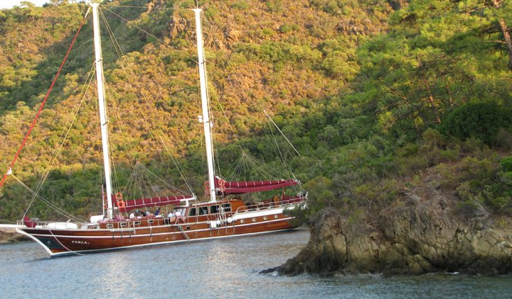 Blaue Reise - Schiffsreise von Bodrum nach Marmaris (Bild: Mchael Hubka  / pixelio.de)
