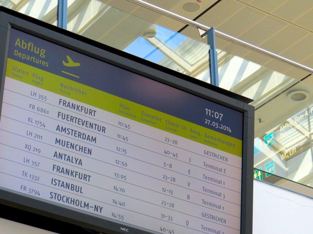 Kurz vor der Abreise (Bild: Uwe Wagschal  / pixelio.de)