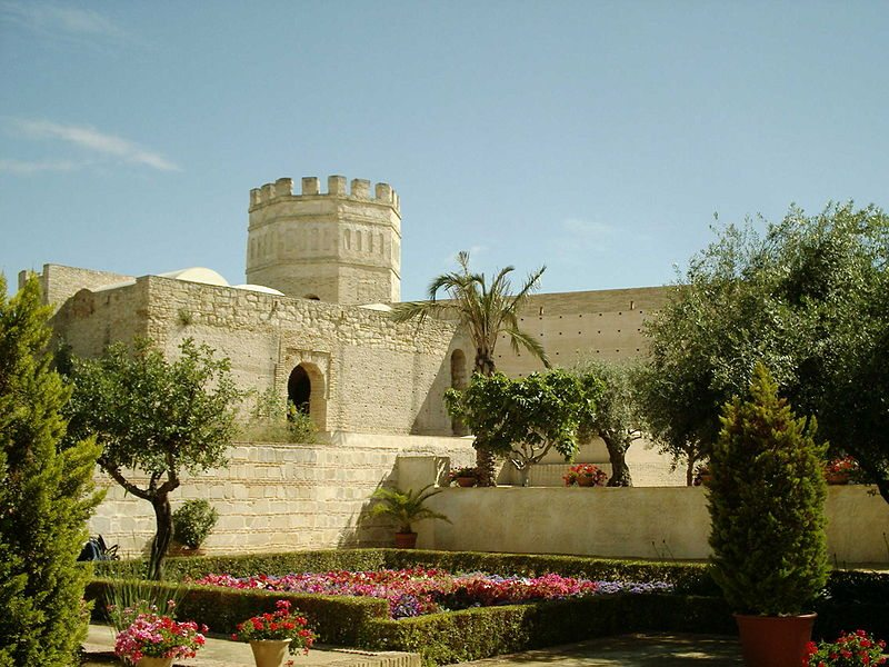 Maurische Festung Alcázar (Bild: Lo Guilhem / Wikimedia / public domain)