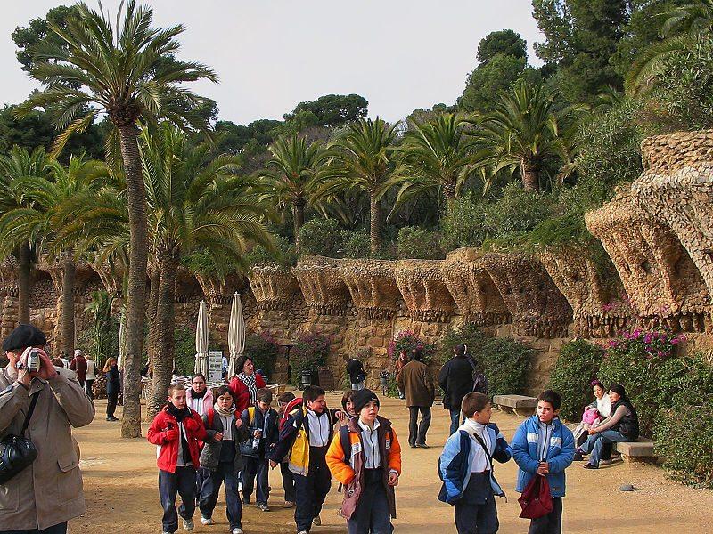 """Vogelnester"" in Parc Güell (Bild: Ludvig14 / Wikimedia / CC)"