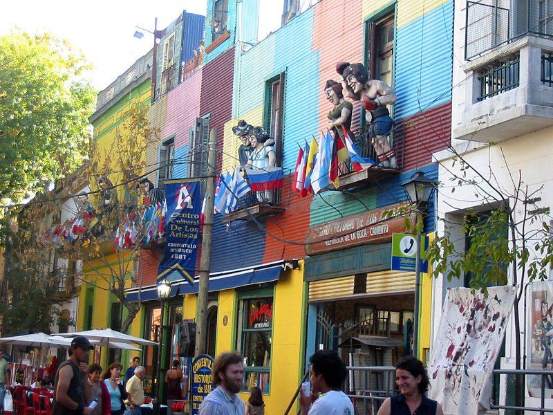 Fussgängerzone El Caminito (Bild: Martini / Wikimedia / CC)