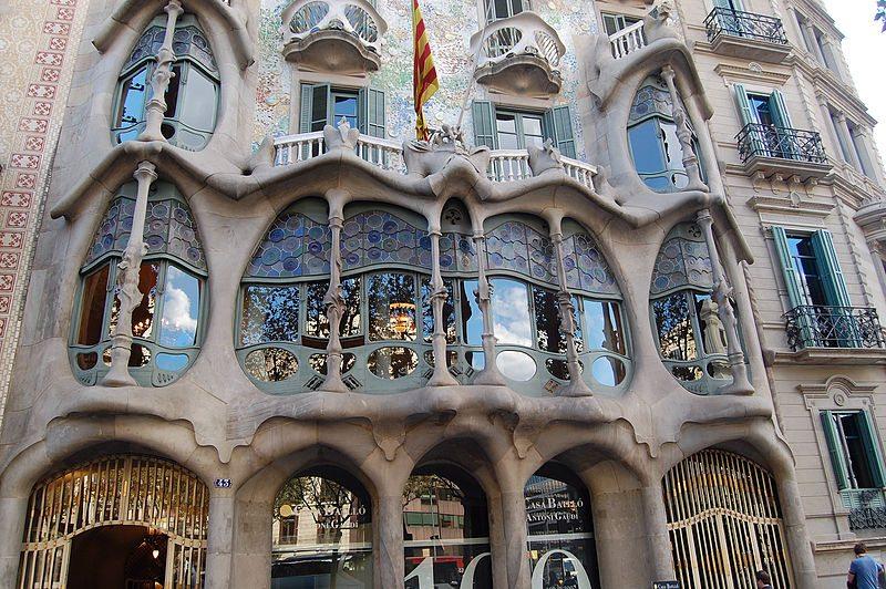 Casa Batlló am Passeig de Gràcia (Bild: tato grasso / Wikimedia / CC)