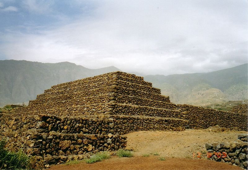 Pyramiden von Güímar (Bild: Steffen Löwe / Wikimedia / CC)