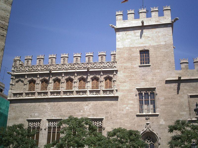 Seidenbörse von Valencia (Bild: Pabloes / Wikimedia / CC)