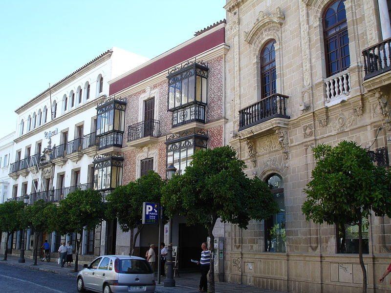 Historische Wohnhäuser in Jerez (Bild: El Pantera / Wikimedia / CC)