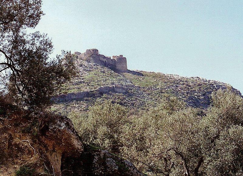 Festung Petrela südlich von Tirana (Bild: Albinfo (/ Wikimedia / CC)