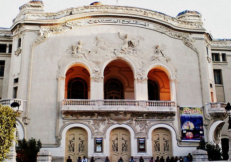 Théâtre municipal de Tunis (Bild: Ahmed BEN YAGHLENE / Wikimedia / CC)