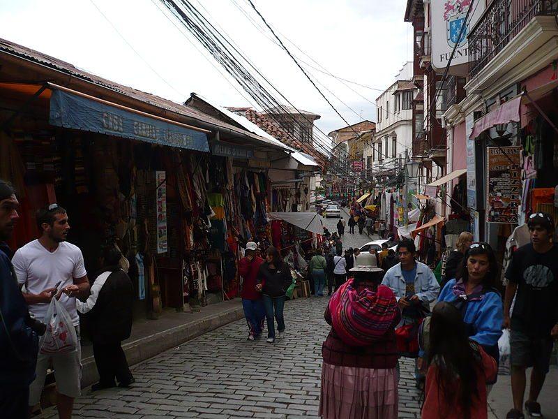 """Hexenmarkt"" in La Paz (Bild: Gonzalo Rivero / Wikimedia / CC)"