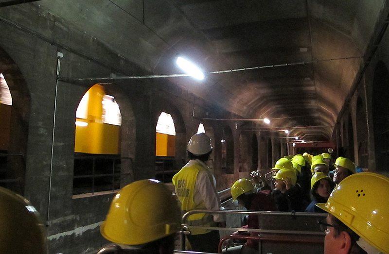Nächtliche Tunnel-Tour durch Berlin (Bild: Michael F. Mehnert, Wikimedia, CC)