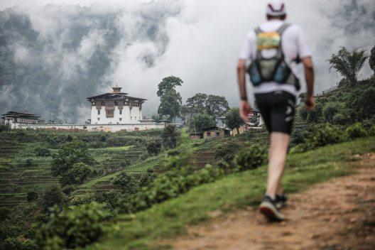 In Bhutan sind nur geführte Rundreisen möglich (Bild: © Dylan Haskin - shutterstock.com)