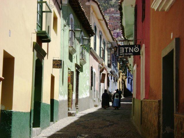 Koloniale Architektur in der Calle Jaen (Bild: (WT-shared) Shoestring / Wikimedia / CC)