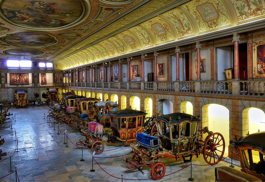 Kutschenmuseum in Lissabon (Bild: Geerd-Olaf Freyer, Wikimedia, CC)