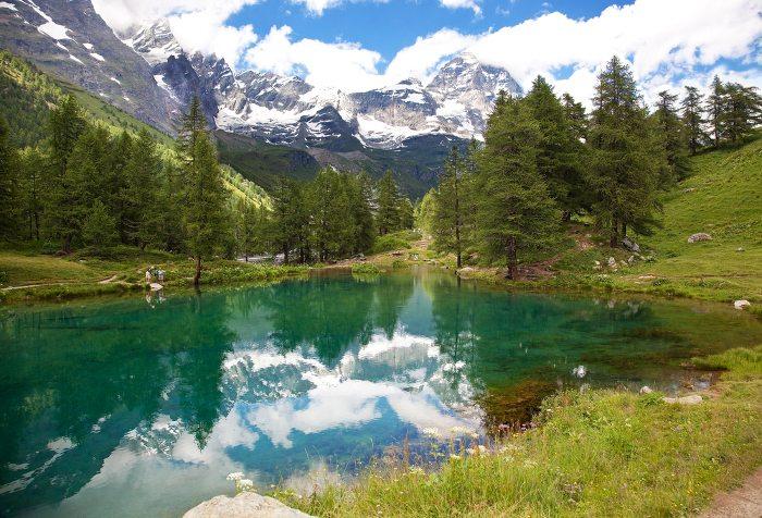 Im wunderschönen Aostatal.