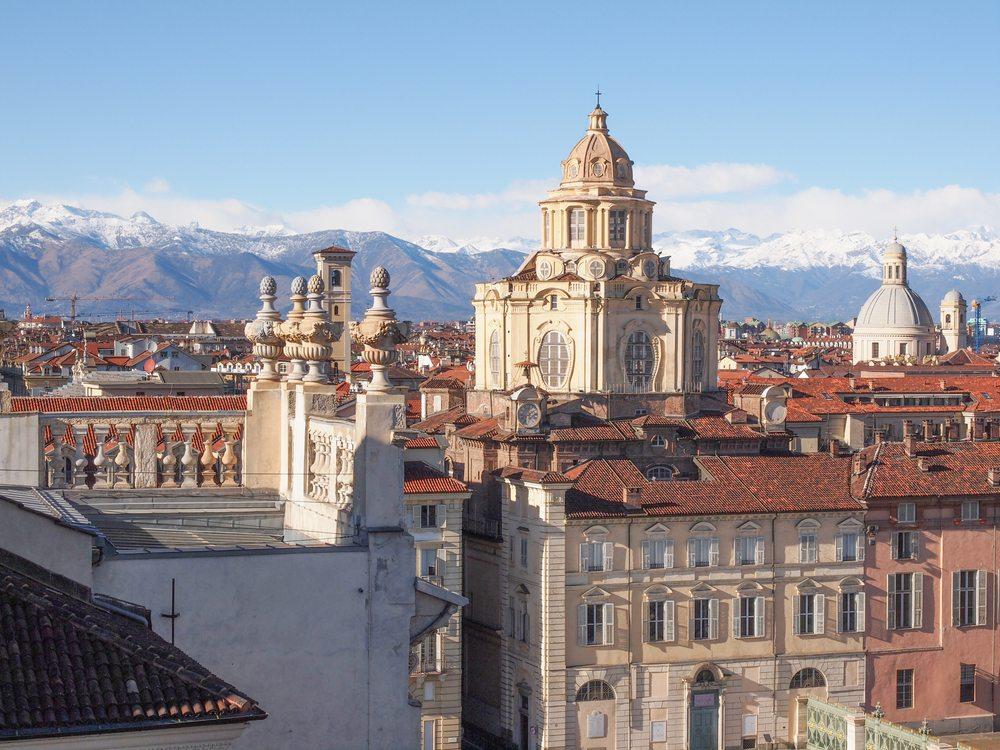 Kirche San Lorenzo in Turin.