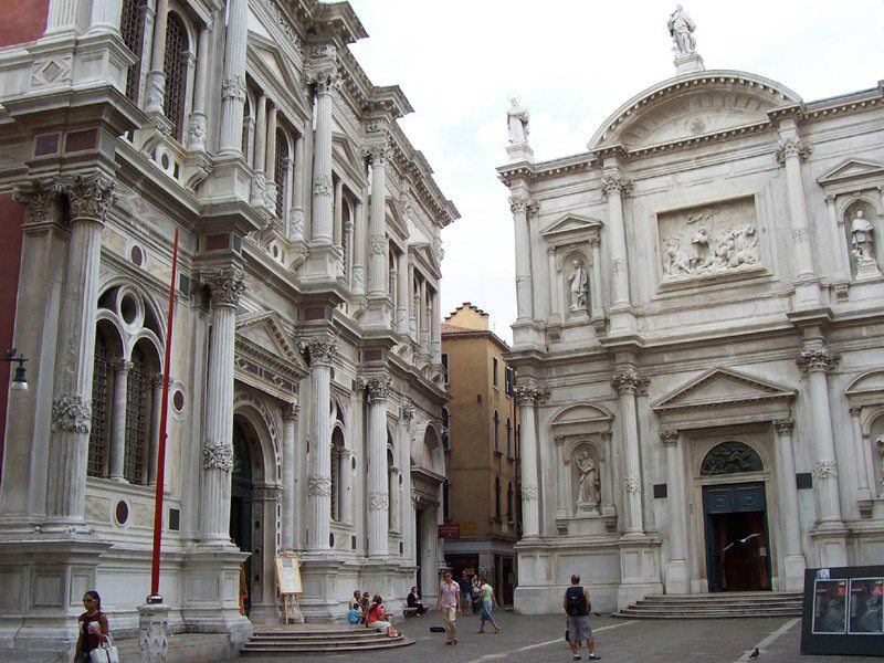 Scuola Grande di San Rocco in Venedig (Bild: MarkusMark, Wikimedia, CC)