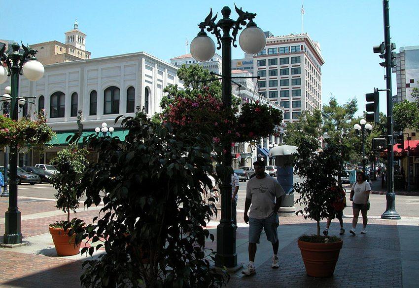 Gaslamp Quartier in San Diego (Bild: Achim Hänsch, Wikimedia, CC)