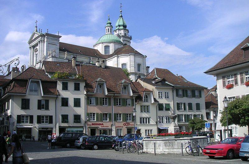 In der Altstadt von Solothurn. (Bild: Marcel.c, Wikimedia)