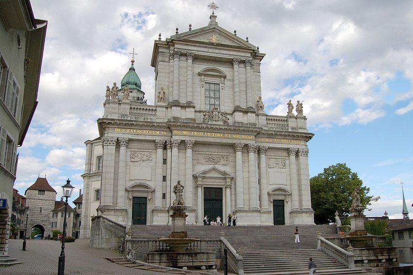 St.-Ursen-Kathedrale in Solothurn. (Bild: Userhelp.ch, Wikimedia, CC)