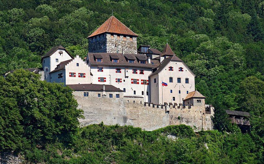 Schloss Vaduz: Wohnsitz des Fürsten von Liechtenstein (Bild: Presse- und Informationsamt, Vaduz, Wikimedia, CC)