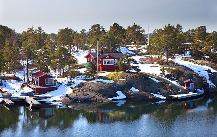 Die Insel Hasselö in Mai (Bild: Bengt Nyman, Wikimedia, CC)