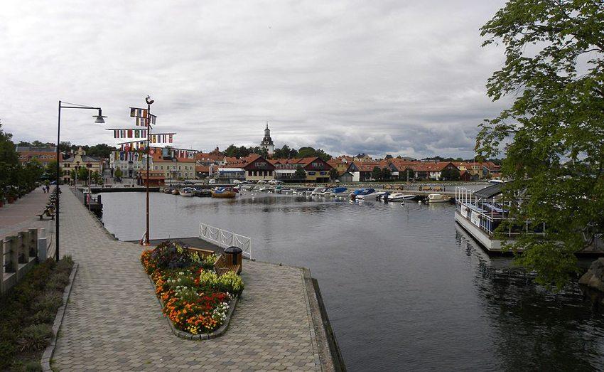 Yachthafen in Västervik (Bild: Meleagros, Wikimedia, CC)