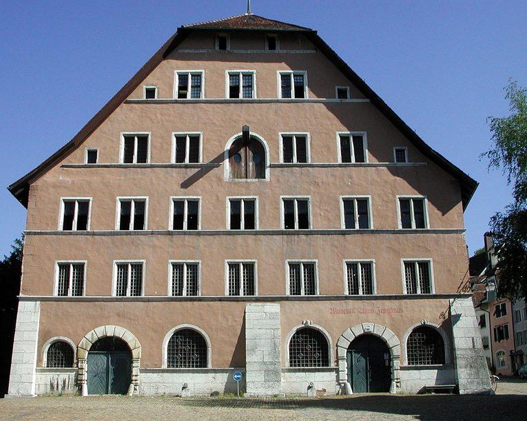 Das Zeughaus in Solothurn (Bild: RicciSpeziari, Wikimedia, CC)