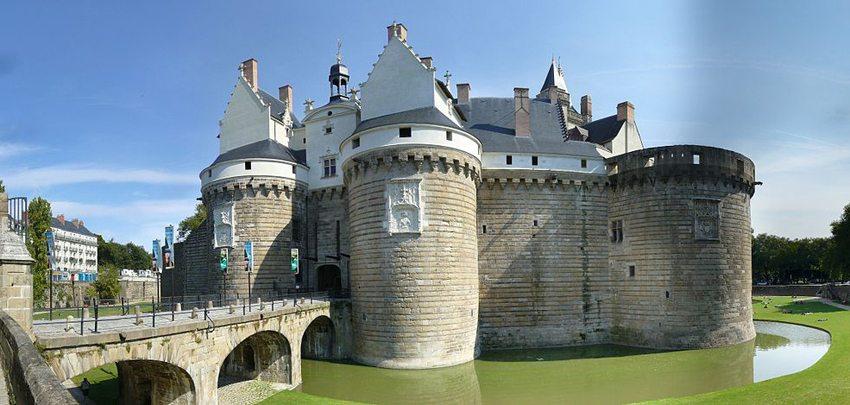 Château des Ducs de Bretagne in Nantes (Bild: Plindenbaum, Wikimedia, CC)