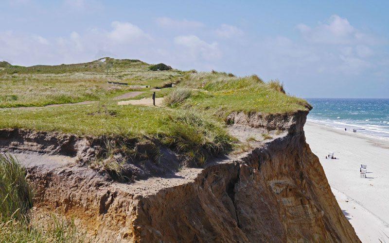 Sylt – das Rote Kliff (Bild: Erich Westendarp  / pixelio.de)
