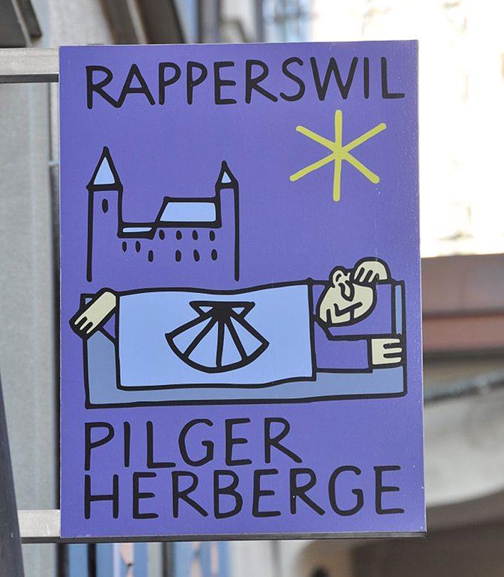 Pilgerherberge in der Seestrasse in Rapperswil (Bild: Roland zh, Wikimedia, CC)