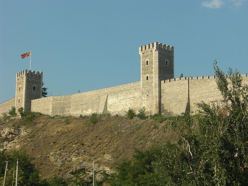 Festung Kale in Skopje (Bild: Yemc / Wikimedia / public domain)
