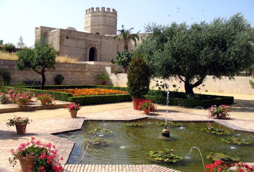 Festung Alkazar in Jerez de la Frontera (Bild: Jonsson, Wikimedia)
