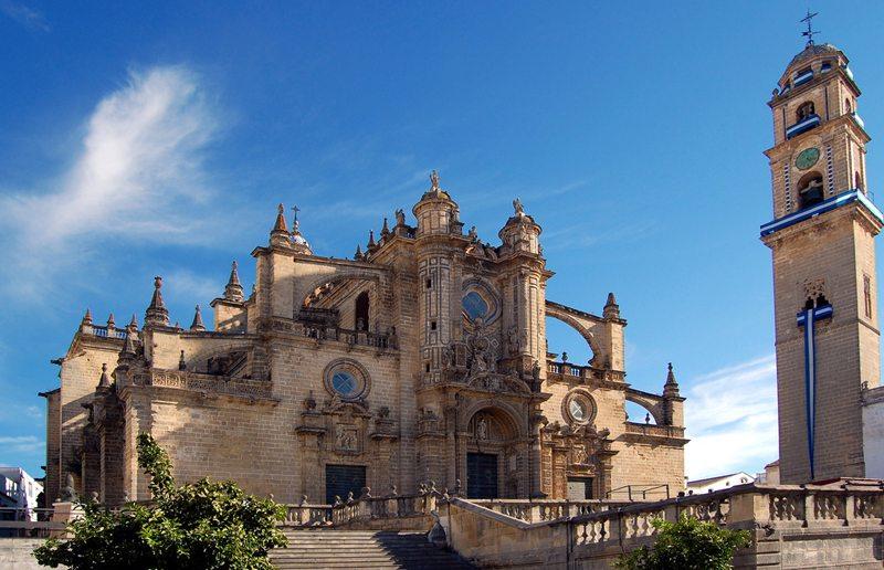 "Die ""Catedral de San Salvador de Jerez de la Frontera"" (Bild: Will, Wikimedia, CC)"