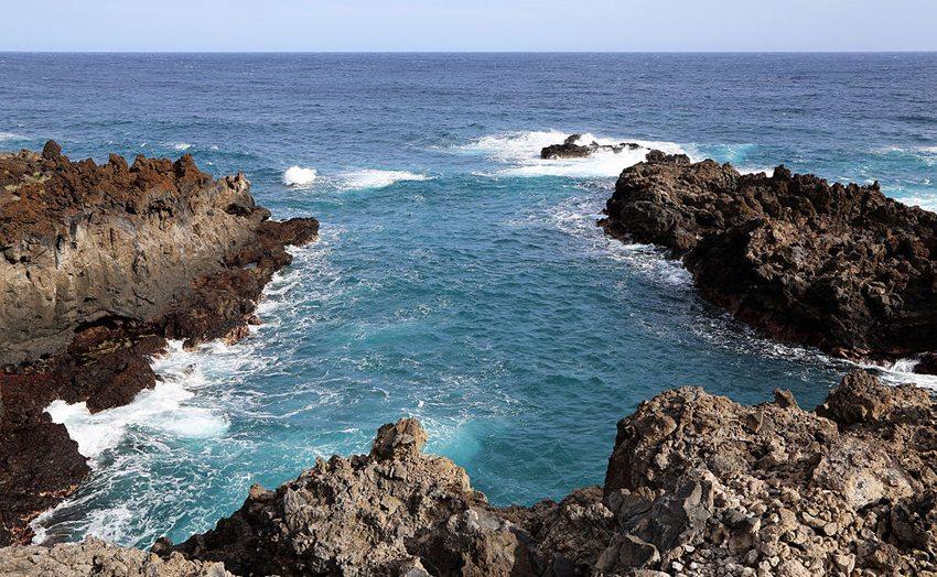 Die idyllischen Badebuchten von La Palma laden zu einem kurzen Stopp ein (Bild: Marc Ryckaert, Wikimedia, CC)