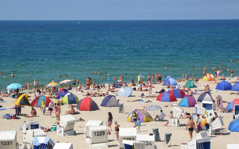 Strand in Westerland (Bild: Lars Goldenbogen, Wikimedia, CC)