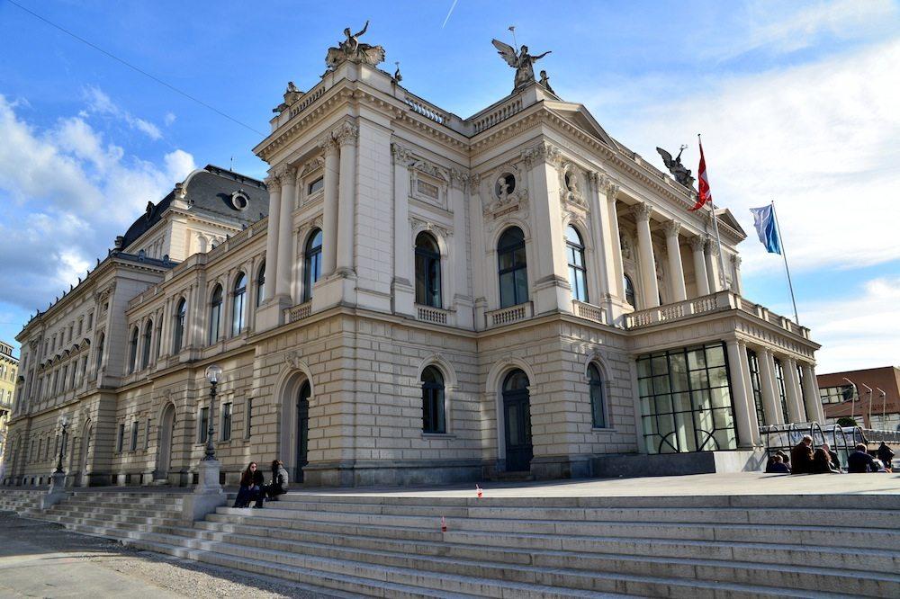 Das Züricher Opernhaus (© celeste clochard - Fotolia.com)