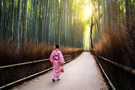 Arashiyama in Kyoto (Bild: © Patrick Foto - shutterstock.com)