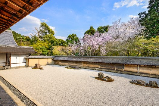 Zen-Garten Japans im Ryoanji-Tempel (Bild: © Sean Pavone - shutterstock.com)