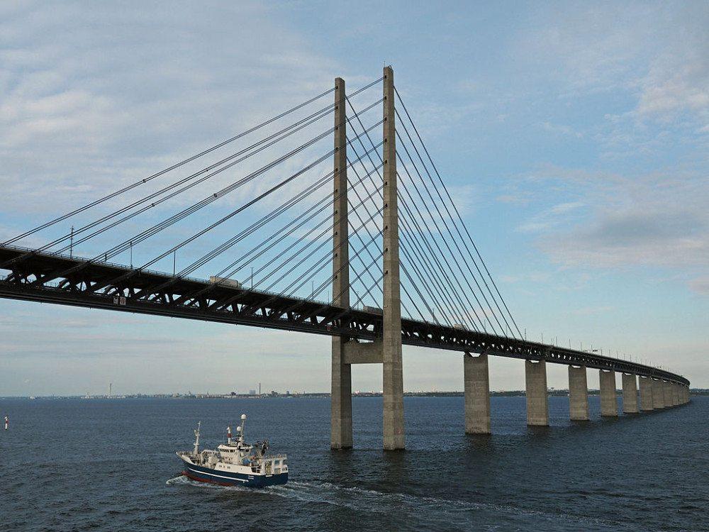 "Öresundbrücke Richtung Malmö (Bild: © Hajotthu / Wikimedia / <a title=""creativecommons.org - Creative Commons"" href=""https://creativecommons.org/licenses/by-sa/4.0/deed.en"" target=""_blank"">CC</a>)"