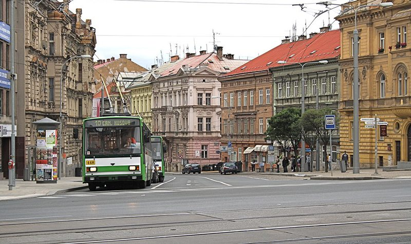 In der Altstadt von Pilsen (Bild: Roehrensee, Wikimedia, GNU)