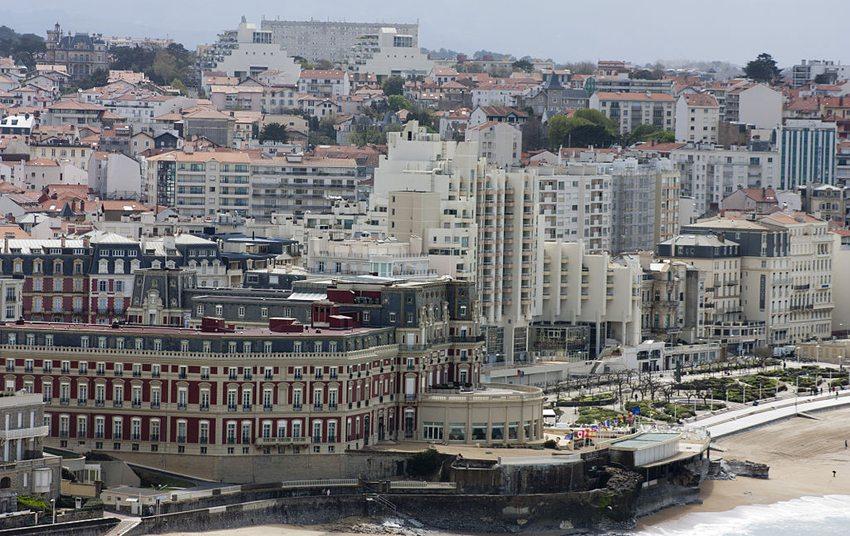 Hôtel du Palais in Biarritz (Bild: Daniel Villafruela, Wikimedia, CC)