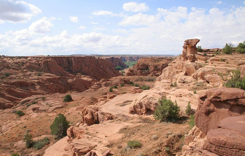 Canyon de Chelly National Monument, Arizona (Bild: NPS Photo, Wikimedia) USA Reise