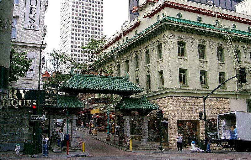 Chinatown von San Francisco (Bild: Beatrice Murch, Wikimedia, GNU) USA Reise