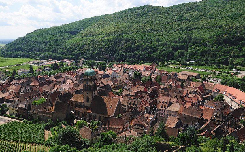 Stadt Kaysersberg in Elsass (Bild: Wladyslaw, Wikimedia, GNU)