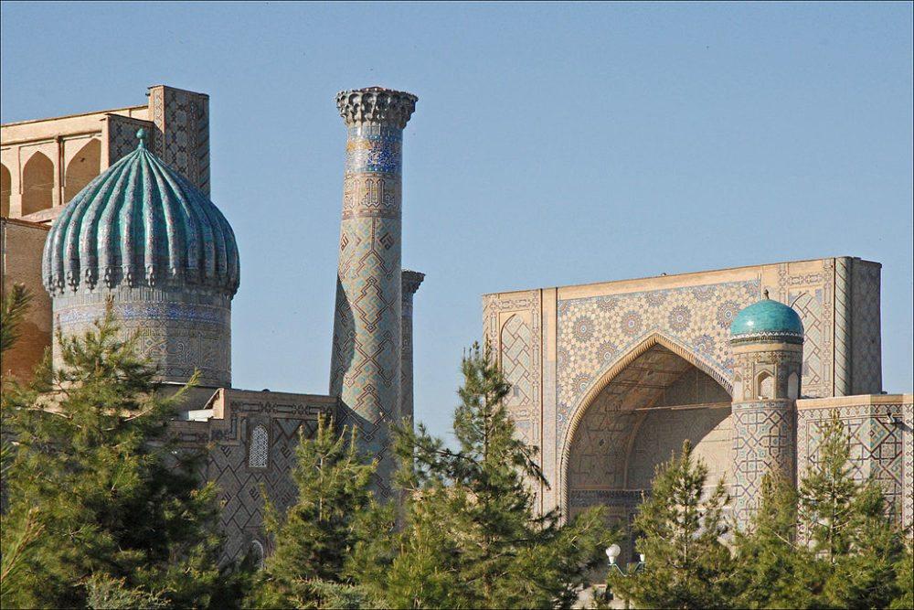 Historische Islamschule Ulugbek (© dalbera / Wikimedia / CC) Smarkand