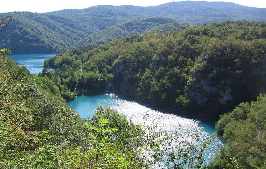 Die unteren Seen im Nationalpark Plitvicer Seen (Bild: Remulazz, Wikimedia, CC)