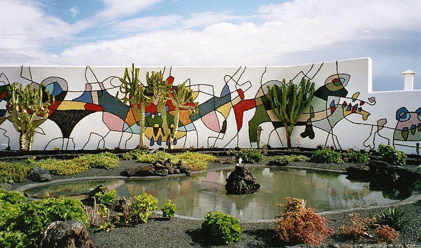 Fundación César Manrique in Tahiche in der Nähe der Hauptstadt Arrecife (Bild: Alexander Hauck, Wikimedia)