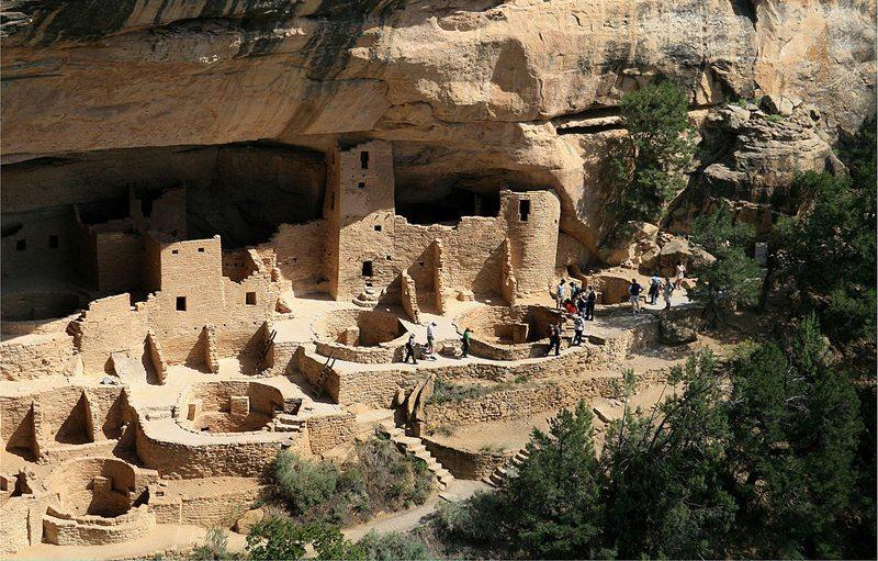 Mesa Verde National Park, Colorado (Bild: Andreas F. Borchert, Wikimedia, CC) USA Reise